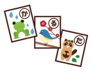 幼児用かるたは種類が豊富知育キャラクターなどおすすめかるた5選
